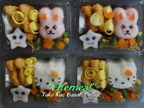 Nasi Bento untuk acara Ulang Tahun Anak Jogja - pemesanan 081.2321.50.333
