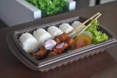 Nasi Bento Sate Murah Enak untuk acara Ulang Tahun