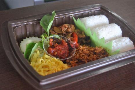Nasi Bento Empal Krawu Murah Enak untuk acara Meeting